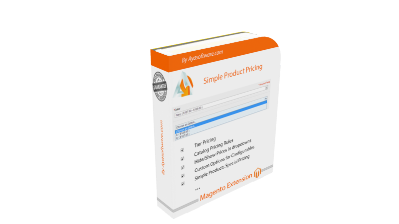Magento simple product pricing | AyaSoftware